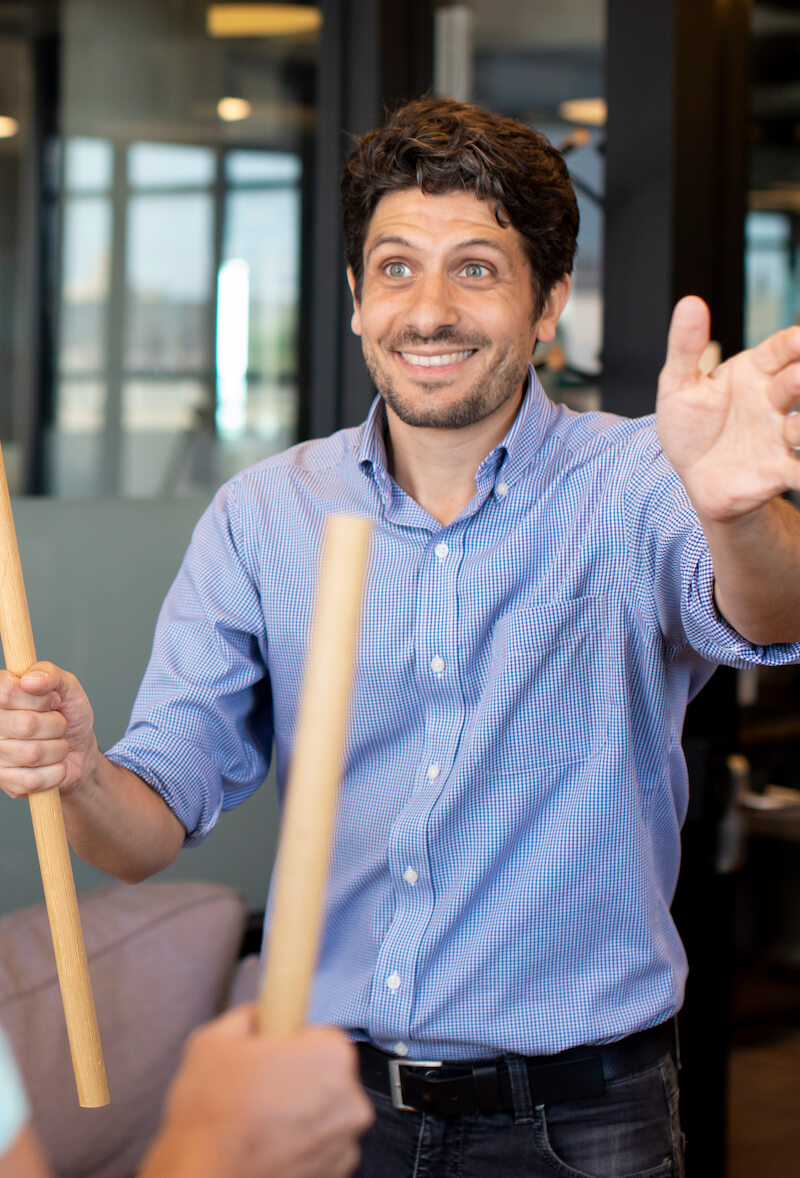 Tommaso Lana - Embodied Learning - Experiential Team Building